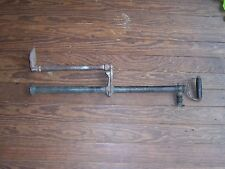 Antique Nautical Brass & Cast Iron Boat / Marine Bilge Pump Hand Operated Decor