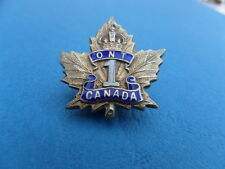 WW1 C.E.F. 1st Infantry Battalion Ontario HM Silver Sweetheart Brooch Badge Pin