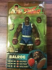 STREET FIGHTER SOTA TOYS BALROG BLUE ROUND 3 ACTION FIGURE CAPCOM 2005