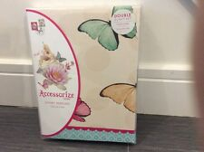 Brand New Accessorize Bedding Duvet Set Double Scatter Butterfly SALE