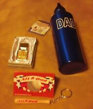 Accessories Men Dad Father Key Ring Chain Bottle Money Clip Gift Set Baseball