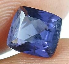 SPINEL Natural 1.60 CT 6.96 X 6.32 MM Purple Blue Color Untreated Gem 13052222-Q