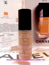 Na8# CHANEL Vitalumiere Satin Smoothing Fluid Makeup SPF15 Foundation #20 ~2.5ml