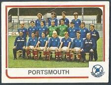 PANINI FOOTBALL 84-#424-PORTSMOUTH TEAM PHOTO