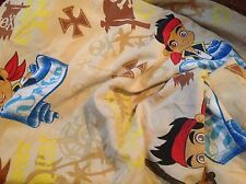 Jake and the Neverland Pirates twin fitted sheet