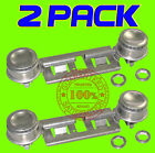 2 PACK WB16K10003 DOUBLE TOP BURNER KIT FOR GE KENMORE HOTPOINT GAS OVEN STOVE