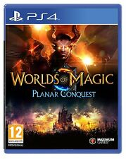 Worlds of Magic Planar Conquest (PS4) BRAND NEW SEALED