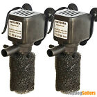 2x 250 KIT Power head Aquarium Fish Water Pump Submersible 20 30 Gal Odyssea