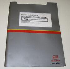 Werkstatthandbuch Seat Ibiza Cordoba 5 Gang Schaltgetriebe Getriebe 02T ab 2002
