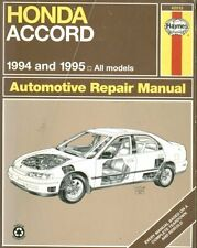 HONDA ACCORD 2.2 , 2.2 VTEC & 2.7 V6 ( 1994 - 1995 ) OWNERS REPAIR MANUAL