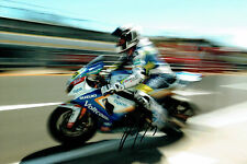 Randy De PUNIET # SIGNED Autograph SUZUKI Voltcom 12x8 Action Photo AFTAL COA