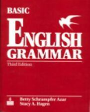 Basic English Grammar by Betty S. Azar and Stacy A. Hagen (2006, CD-ROM / Paperb