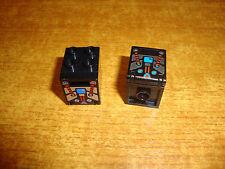 2 x LEGO Schrank,Kasten,Briefkasten 4345 mit Tür/Klappe 2x2 gebraucht.