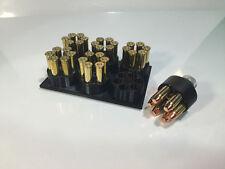 Loading Block .38/357 for 6 shot Revolver Speedloader S&W 686,Ruger,+++ - BLACK