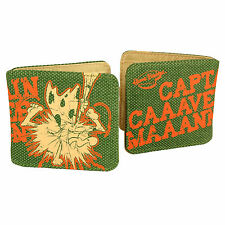 Captain Caveman Wallet Retro Gift Cool Cash Cards Purse Money Smart Trendy