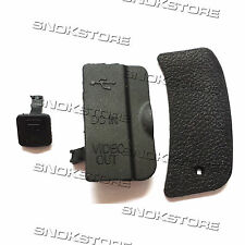 NEW THUMB REAR BACK COVER + COVER IF LID USB HDMI + CABLE FOR NIKON D80 UNIT