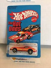 #2 Corvette Stingray 9241 RED  1981 Hong Kong HOT ONES * Vintage Hot Wheels * H2