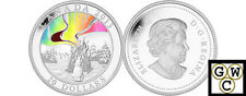 2013 Northern Lights-The Great Hare Hologram Prf $20 Silver coin Fine(NT)(13240)