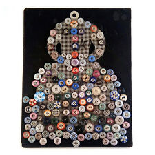 Folk Art Dress Collection: 150+ Antique Ringer Stencil Calico Solid Body Buttons