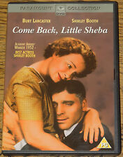 COME BACK, LITTLE SHEBA 1952 BURT LANCASTER SHIRLEY BOOTH RARE DELETED R2 DVD