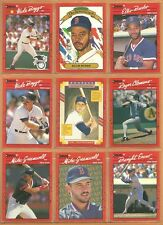 1990 Donruss Boston Red Sox Team Set Yastrzemski Roger Clemens Wade Boggs Rice +
