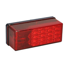 """Wesbar Waterproof 7-Function Right/Curbside LED Tail Light 3x8"""" for Trailer  80"""""""