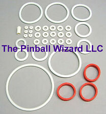 Flash 1979 Williams Pinball Machine White Rubber Ring Kit