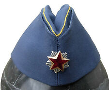 SFRJ YUGOSLAVIA - AN ORIGINAL AIRFORCE OFFICER TITOVKA CAP - SIZE 57