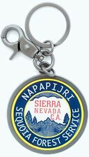 Portachiavi Keyring Napapijri Uomo Men Donna Women Corporate Sequoia N2V12