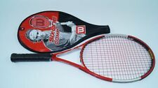 Wilson six. One Comp raquette de tennis l2 racket staff 98 tour strung racquet Blx