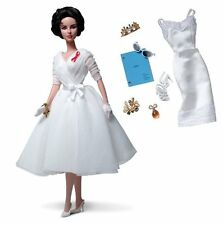 Barbie Elizabeth Taylor White Diamonds Silkstone Gold Label Doll NEW W3471