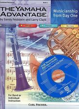 Book & CD SET Learn PERCUSSION 96pg YAMAHA Drums + Musician From DAY 1 EC+