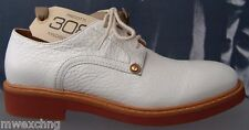CESARE PACIOTTI 308 LEATHER US 6 LACED MENS OXFORDS ITALIAN DESIGNER SHOES