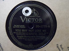 Vaughn Monroe and His Orchestra - Just My Luck / You May Not Love Me 78 record