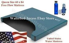 Best Queen Free Flow Waterbed Mattress with Heavy Vinyl Made In The U.S.A.
