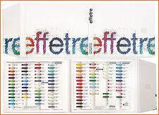 """Effetre / Moretti Musterbuch """"Campioni"""""""