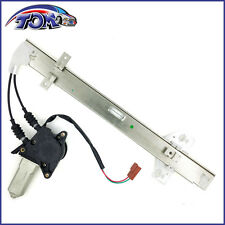 BRAND NEW REAR DRIVERS SIDE POWER WINDOW REGULATOR WITH MOTOR FOR 90-93 ACCORD