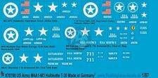 Peddinghaus 1/87 (HO) M4A1 Sherman, M3 / M16, T30 HMC, M8 Greyhound Markings 780