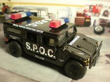POLICE HUMMER 4X4 SPECIAL PURPOSE OPERATIONS CENTER 1/64 SCALE LIMITED EDITION