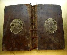 1749 LIVRES ARMES EVEQUE CANTIQUES ANNEE AFFECTIV AMOUR DIEU RELIGION BIBLE BOOK