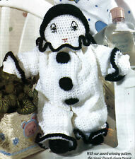 CUTE Pierrot French Clown/Toy/ Crochet Pattern INSTRUCTIONS ONLY