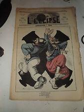 L'ECLIPSE,N°130  journal du 16 Juillet 1870,( ACTUALITE )  par GILL