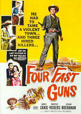 Four Fast Guns (DVD, 2014) James Craig, Martha Vickers   BRAND NEW