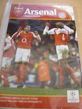09/03/2005 arsenal v bayern munich [ligue des champions]. (tout remarquable failles wi