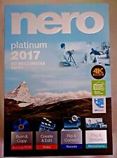 Brand New Boxed Nero Platinum 2017] HD Multimedia Suite Free Shipping