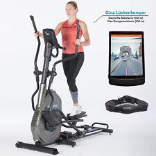 Schwarz günstig kaufen Crosstrainer TecTake Crosstrainer mit Trainingscomputer