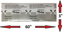 "BOUNCY CASTLE / INFLATABLE MATTRESS / AWNING REPAIR PATCH 60"" X 3"" PATCH-TAPE"