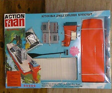 VINTAGE ACTION MAN 40th CARDED/BOXED JUNGLE EXPLORER RIVER CRAFT