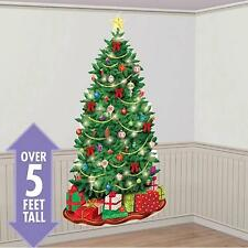 Xmas Tree & Presents Scene Setter Decoration/Xmas Decorations/Space Saver Tree