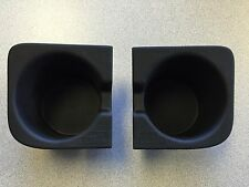 2010-2015 OEM TOYOTA TACOMA FRONT CONSOLE CUP HOLDER SET INSERTS LEFT & RIGHT